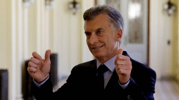 """Macri busca su reelección: """"Estoy convencido de que los argentinos no quieren volver para atrás"""""""
