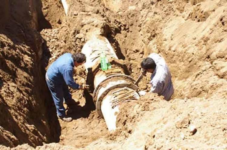 Repararon el acueducto. En las próximas horas se normalizaría el servicio de agua potable