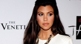 El espectacular desnudo de Kourtney