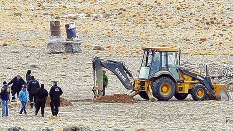 Reanudan las excavaciones en la estancia de Lázaro Báez