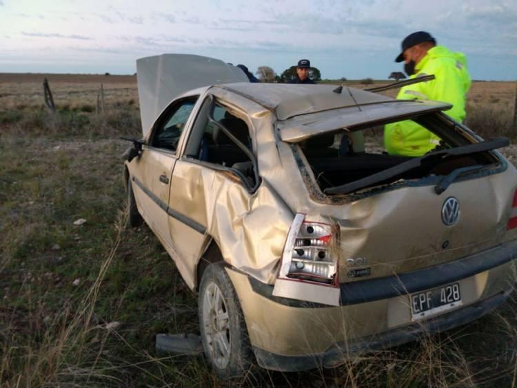 Un hombre de 27 años falleció en un siniestro vial en cercanías de Bernasconi