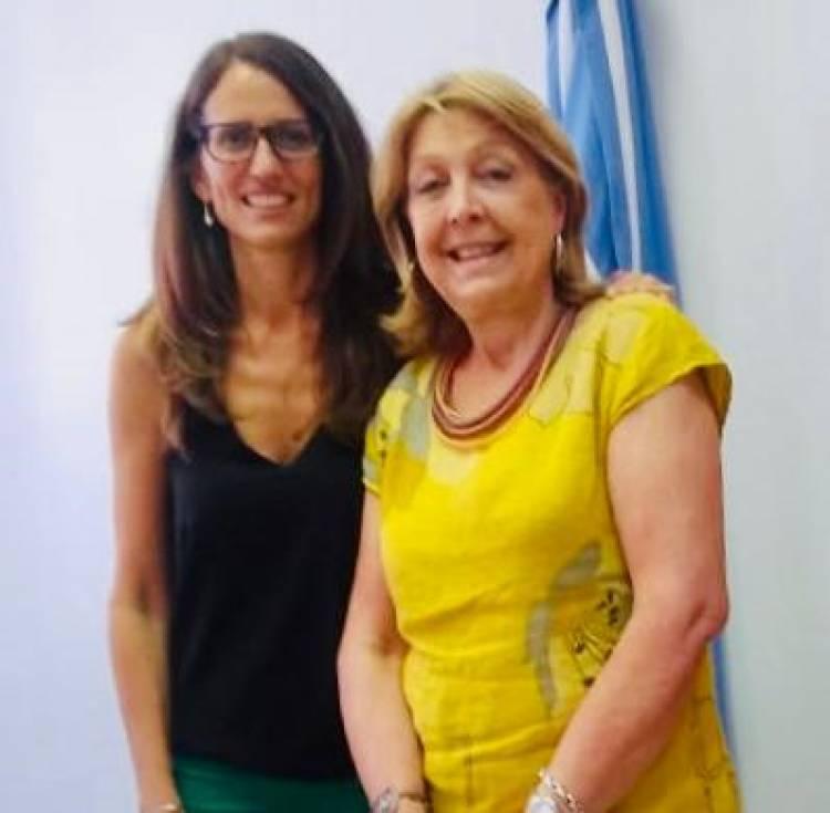 Norma Durango se reunió con la Ministra de Mujeres, Géneros y Diversidad de la Nación