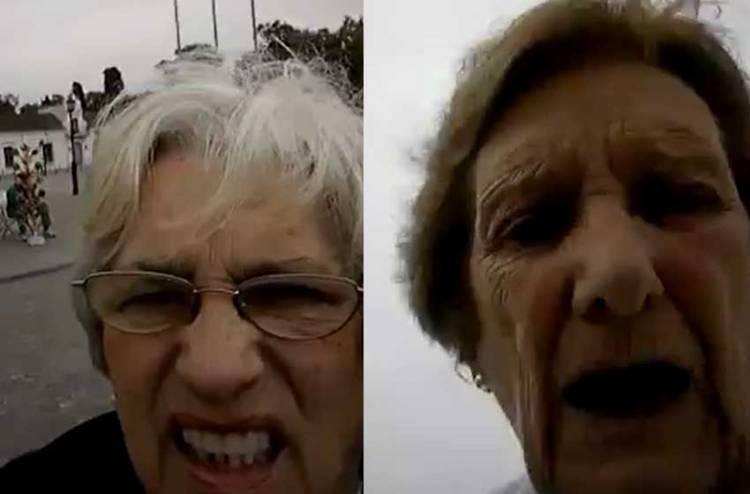 DIVINAS: Abuelas quisieron sacar una foto y terminaron creando una videoselfie viral