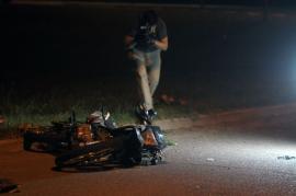 VIDEO: motociclista resultó herido de gravedad en una persecución en General Pico