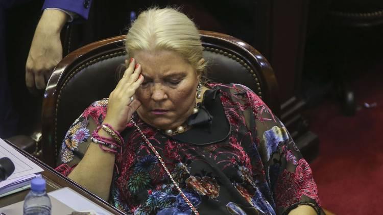 Duro informe de Elisa Carrió contra el Poder Judicial