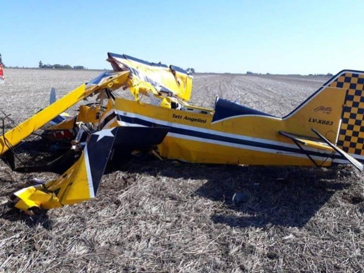 En un accidente aéreo, murió el piloto de TC, Juan Marcos Angelini. Tenia 31 años
