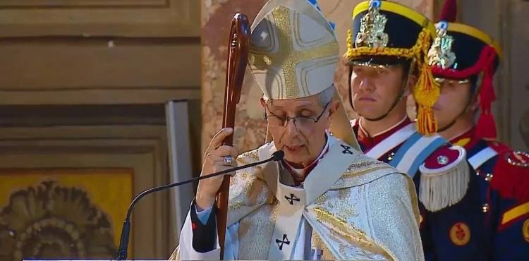 """Arzobispo Poli: """"La indeferencia de los ricos hacia los pobres no pasa inadvertida ante Dios"""""""