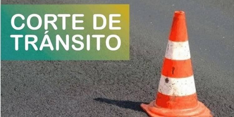 La Avenida Uruguay cortada hasta el domingo